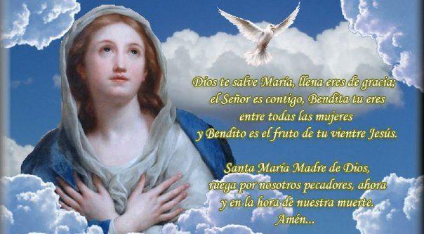 Los frutos del Ave María