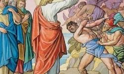 Jesús libera endemoniado