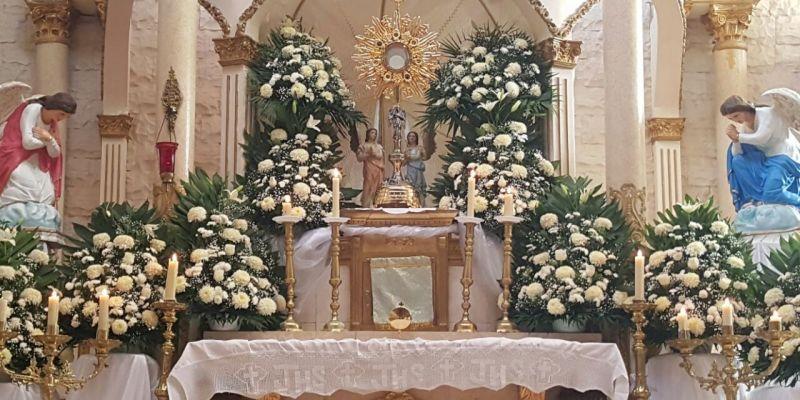 EL Santo Jubileo de las Cuarenta Horas en desagravio a Jesús Sacramentado