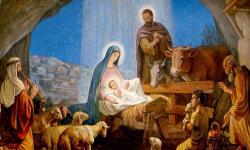Christ-born-manger